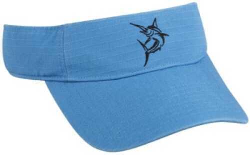 Outdoor Cap Q3 Visor Marlin Blue 1-Sz Md#: MAR-010