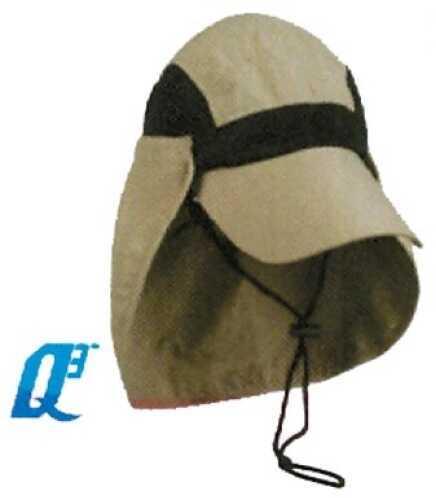 Outdoor Cap River Runner Hat Khaki Supplex W/Neck Guard 1-S Md#: RR-002