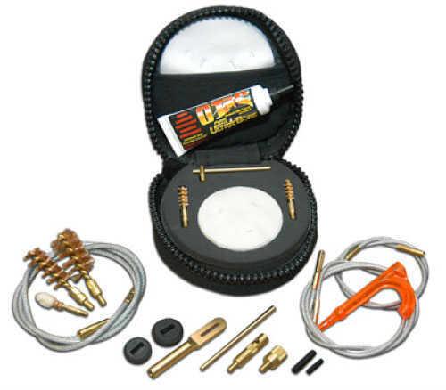 "Otis Technologies Otis Lil' Pro Cleaning System .17-.25 Caliber Rifles and Airguns; .410 & 20 gauge shotguns - 4"" x 4"" 110410"