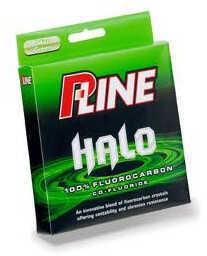 P-Line Halo Fluorocarbon Line Mist Green 200yd 10# Md#: HF200-10