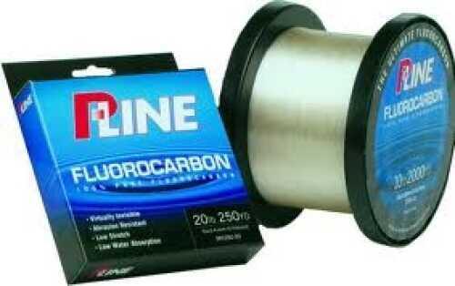 P-Line Soft Fluorocarbon Line 100% Fluorocarbon 250yds 6# Md#: SFCF-6
