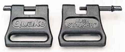 CVA Quake Hush Stalker Ii Swivels 1in Black Pair 23401-2