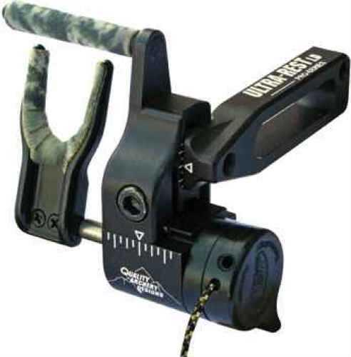 Quality Archery Design Qad Arrow Rest Ultra Ld Pro Black Left Hand QURLL