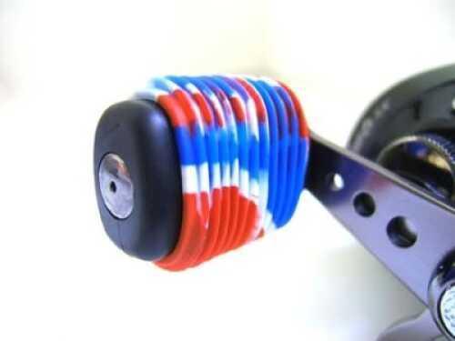 Reel Grip Handle Knob Grip 2pk Red-White-Blue Md#: 1144