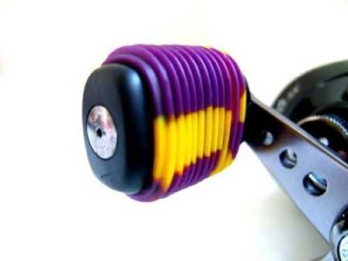 Reel Grip Handle Knob Grip 2pk Purple & Chartreuse Md#: 1154