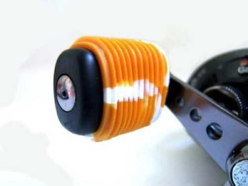 Reel Grip Handle Knob Grip 2pk Metallic Orange/White Md#: 1158