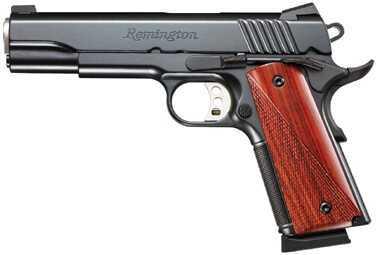 "Pistol Remington Remington 1911 Carry 45 ACP 5"" Satin Black Novak 7&8Rd 96332"