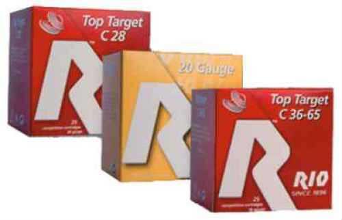 Rio Ammunition Rio Top Target 20 Load 7 1/2 Shot 20ga 2-3/4 7/8 2.5De 250 Rounds Ammunition TT20-75