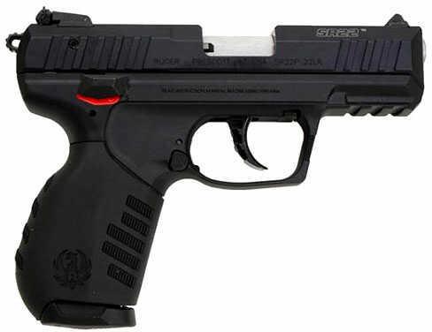 "Ruger SR22 22 Long Rifle 3.5"" Barrel 10 Round Black Semi Automatic Pistol 3604"