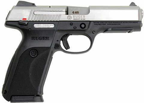 "Ruger SR45 Standard 45ACP 4.5"" Barrel 10 Round Black Grip Semi Automatic Pistol 3801"