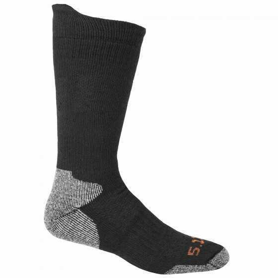 5.11 Inc 5.11 Tactical Sock L/XL Black Cold Weather 10012