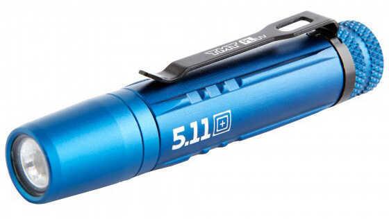 5.11 Inc 5.11 Tactical TMT PLuv Penlight Flashlight Valiant Blue 53212