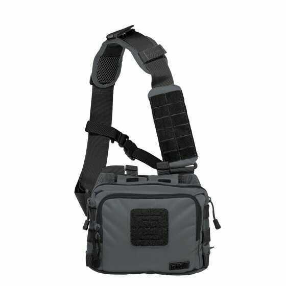 5.11 Inc 5.11 Tactical 2-Banger Bag Double Tap Black 56180