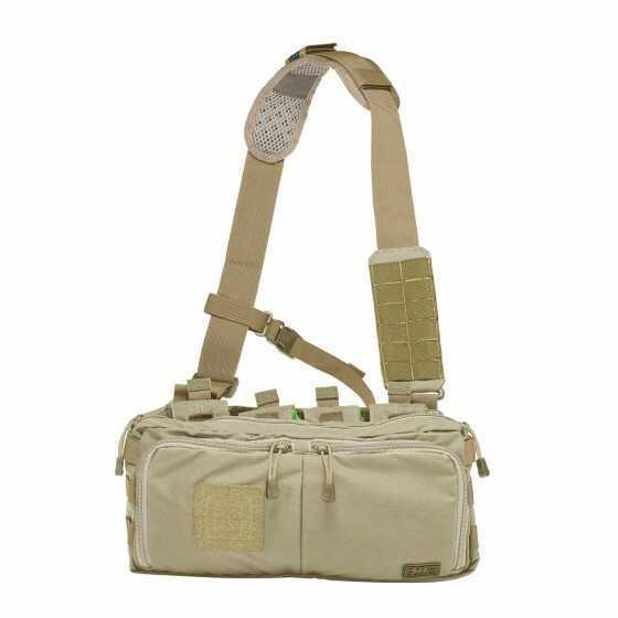 5.11 Inc 5.11 Tactical 4-Banger Bag Double Tap Black 56181