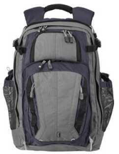 5.11 Inc Tactical COVRT 18 Backpack Blue Depth/Steel Grey 19x12.25x6.5 56961