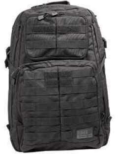 5.11 Inc Tactical Rush 24 Backpack Black Soft 20x12x7 58601
