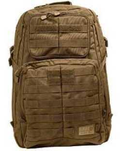 5.11 Inc Tactical Rush 24 Backpack Flat Dark Earth Soft 20x12x7 58601