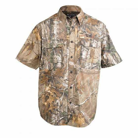 5.11 Inc 5.11 Tactical Short Sleeve Shirt L Realtree XTRA Taclite Realtree 71337