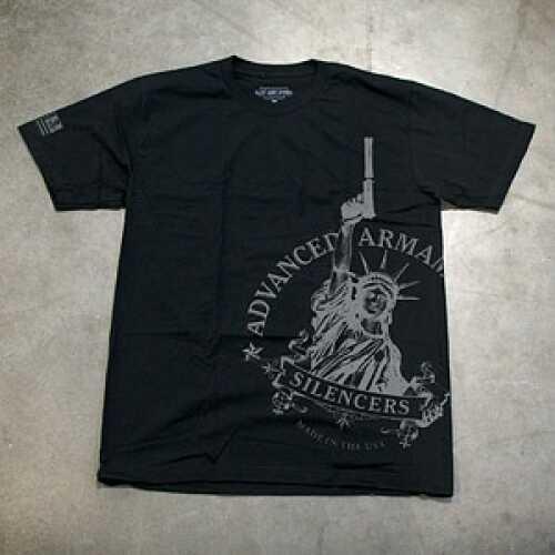 Advanced Armament Apparel Large Black Libertee T-Shirt 100479