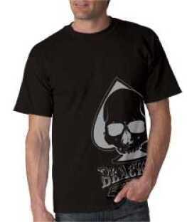 Advanced Armament Apparel Medium Black Blackout Spade T-Shirt 100570