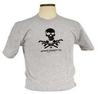 Advanced Armament Apparel Large Gray T-Shirt X-Guns 100611