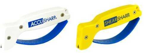 AccuSharp AccuSharp And ShearSharp Combo Knife And Tool Sharpener Yellow/White 012C