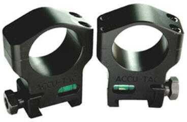 Accu-Tac Scope Rings 34mm High (Clears 56mm Lens) Black Finish HSR-340