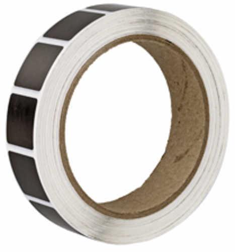 "Action Target PAST/BK Target Pasters 7/8"" Square Bullet Hole Repair Paster Black 1000 Per Roll PAST/BK"