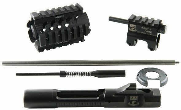 Adams Arms PDW Conv Kit 223 Rem 556NATO Black Fits .750 Barrel Requires existing pistol length gas system AR-15 PPS-D-ADA