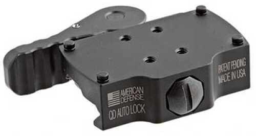 American Defense Mfg. Mount Black Quick Release Burris Fastfire AD22