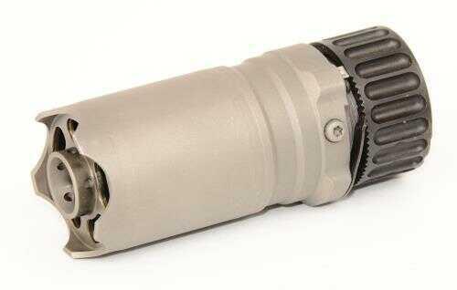 B&T Blast Deflector With Glass Breaker Rotex-IIA Adaptor Fits 5.56MM-7.62MM Sandblasted Stainless Steel Fits B&T Muzzle