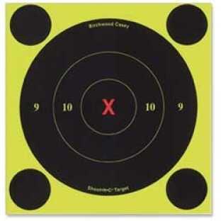 """Birchwood Casey Shoot-N-C Targets: Bull's-Eye 6"""" X-Bull, Per 60 34560"""