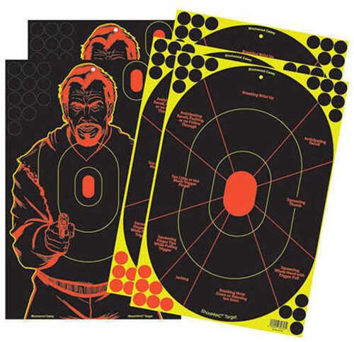 "Birchwood Casey Shoot-N-C Combo Pack 12""X18"" 5 Targets BC-34630"