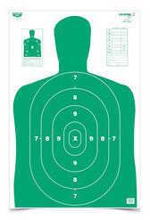 Birchwood Casey Bc27 Eze-score Target 23x35 100 Pack Md: 37017