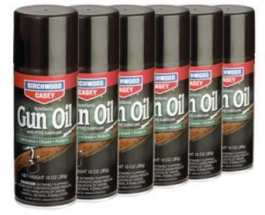 Birchwood Casey Synthetic Gun Oil Aerosol 10 oz. 6/Pack Aerosol Can 44140