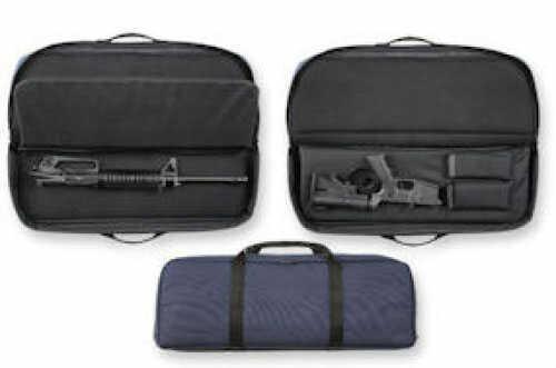 "Bulldog Cases Discreet Tactical Tactical Rifle Navy Nylon 29"" Internal Magazine Pouches 475 BD475"