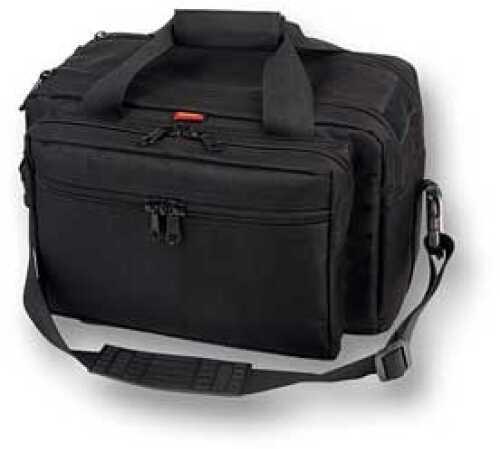 Bulldog Cases BD X Large Deluxe Black Range Bag W/Pistol Rug 905