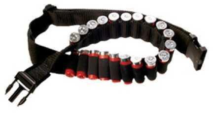 Bulldog Cases Cartridge Belt Black Shotgun WABS