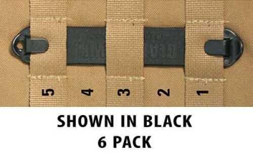 """BlackHawk S.T.R.I.K.E. Speed 5"""" Clips, Black, Pack of 6"""