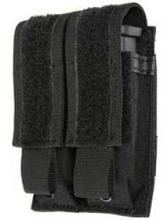 BlackHawk Products Group S.T.R.I.K.E. Double Mag Pouch Black Speedclip 38CL09BK