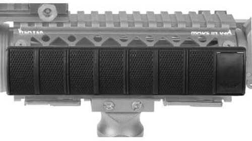 BlackHawk Products Group Rail Cover Black Locking Picatinny 8 Panel 71RP00BK