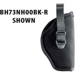 "BlackHawk Products Group Hip Nylon Belt Holster Right Hand, 6"" Medium/Large DA Revolver 73NH03BK-R"