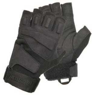 BlackHawk Products Group Gloves Medium Black Half-Finger S.O.L.A.G. Light Assault 8068MDBK