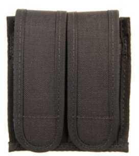 BlackHawk Products Group Magazine Sportster Mag Pouch Ambidextrous Black (2) Magazines Nylon B990230BK