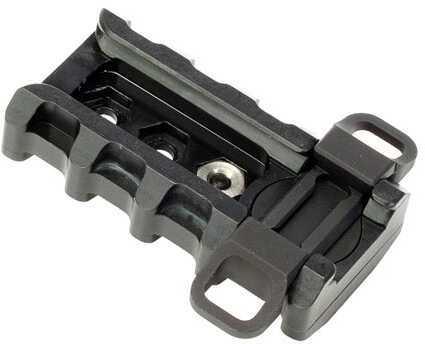 Badger Balm Badger Tactical, Mount, For Harris Bipod, Rapid Adjustable Mounting, Black Finish Md: 249-75