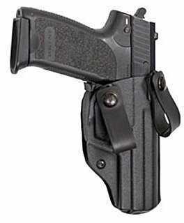 Blade-Tech Blade Tech Industries Nano Iwb Holster Inside The Pants Holster Right Hand Black Glock 17/22/31 Hard
