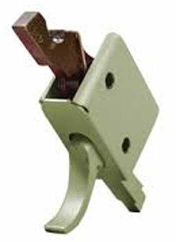 Chip McCormick Custom Chip Mccormick Single Stage Curved Trigger OD Green Match Trigger 91501ODG