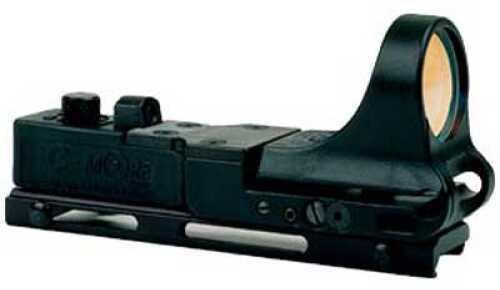C-More Systems Railway Standard Red Dot Picatinny Black 4MOA RWB-4