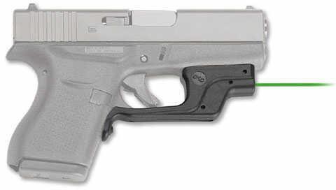Crimson Trace Corporation Green Laserguard, Fits Glock 42, User Installed, Black Finish Lg-443G