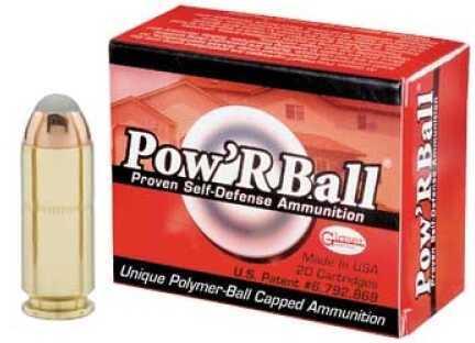 Corbon Pow'rBall 10MM 135 Gr 20 Rounds Ammo PB10135
